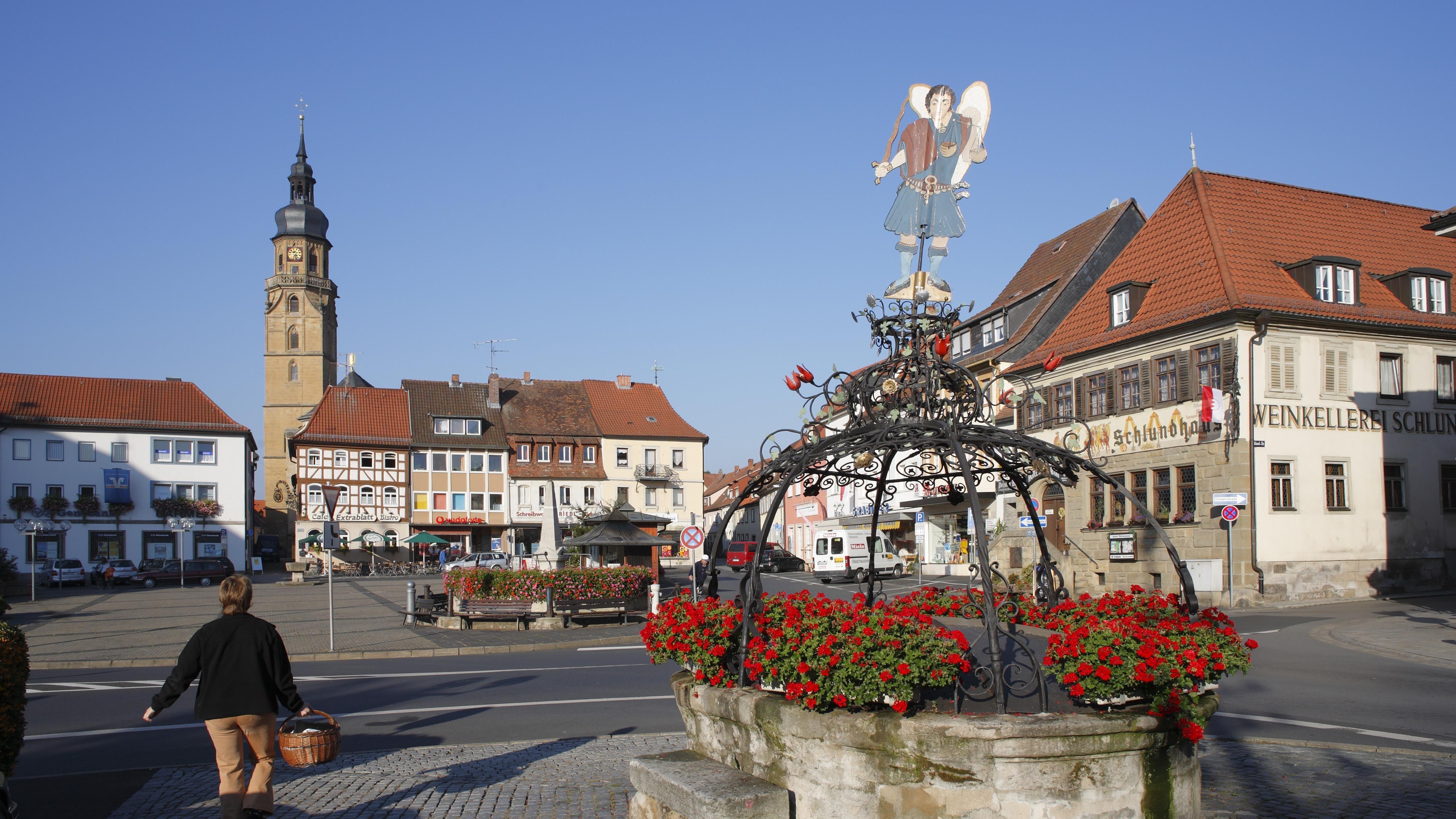 Marktplatz von Bad Königshofen