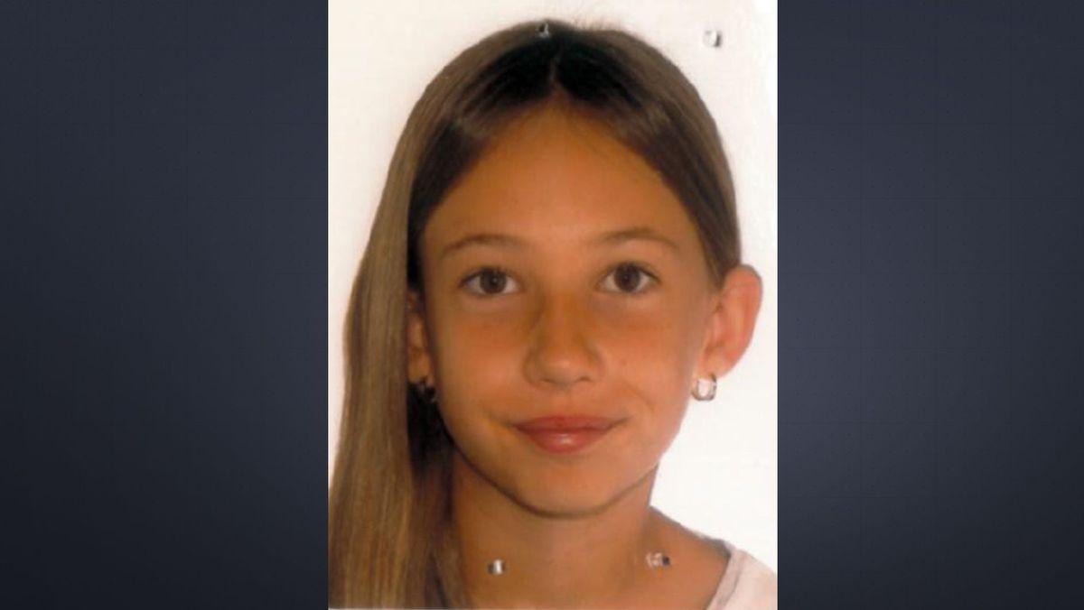 Portraitbild des vermissten Mädchens