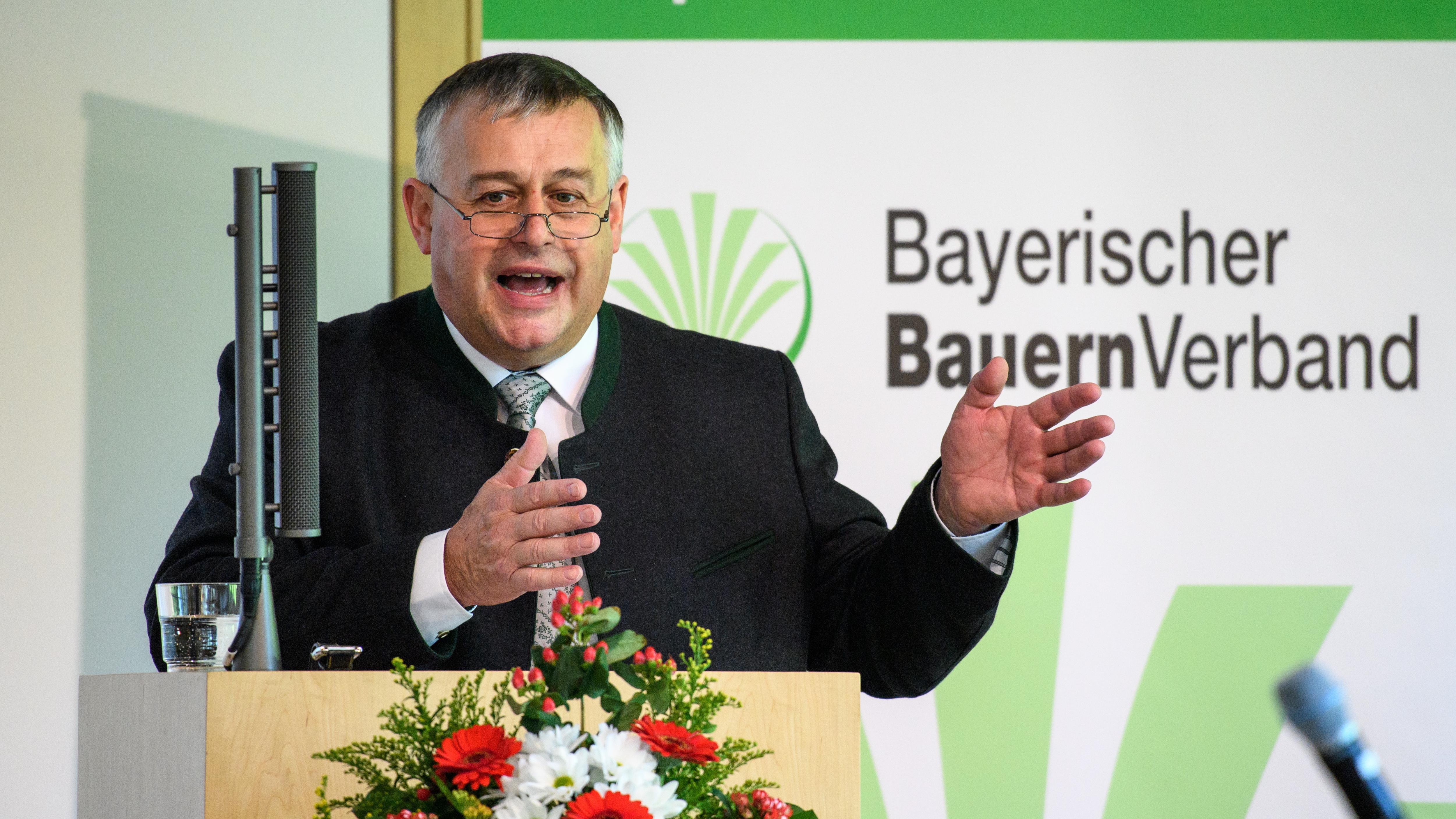Walter Heidl, Präsident des Bayerischen Bauernverbandes