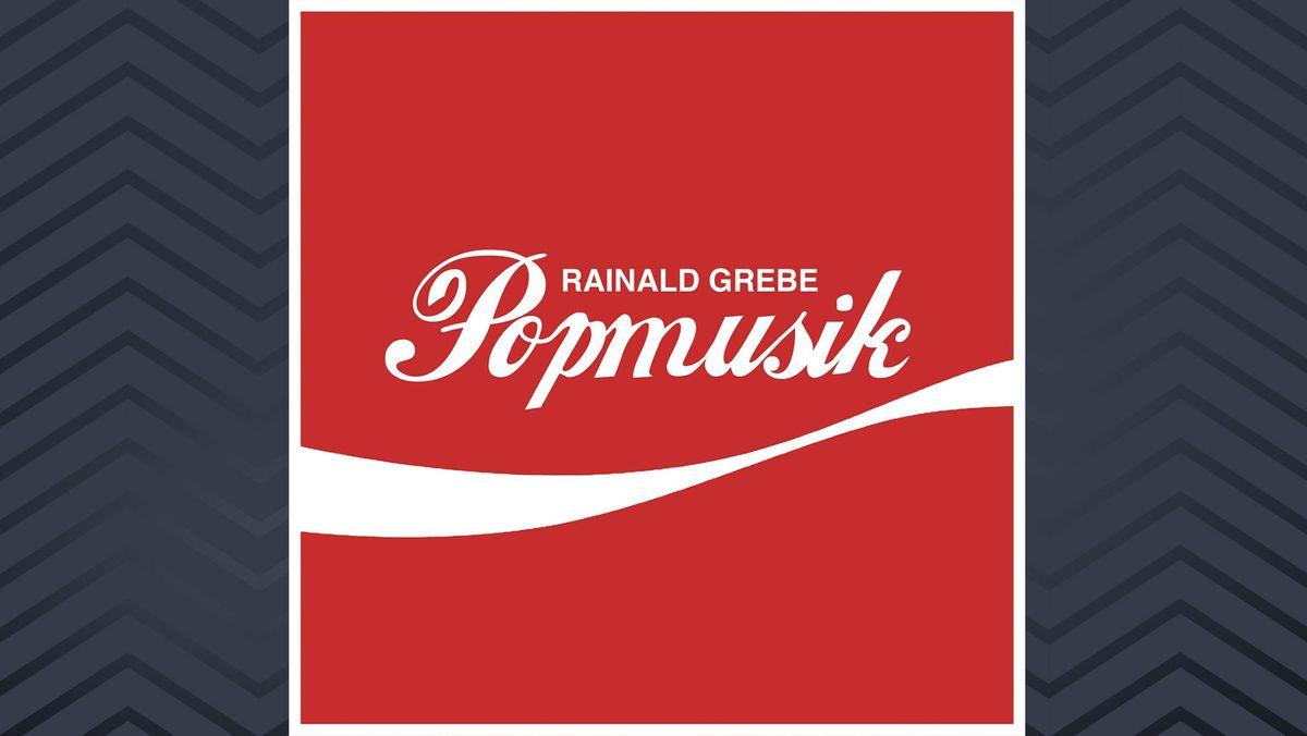 """Knallrotes Cover mit dem Titel """"Popmusik"""" in weißer, altertümlicher Schreibschrift"""