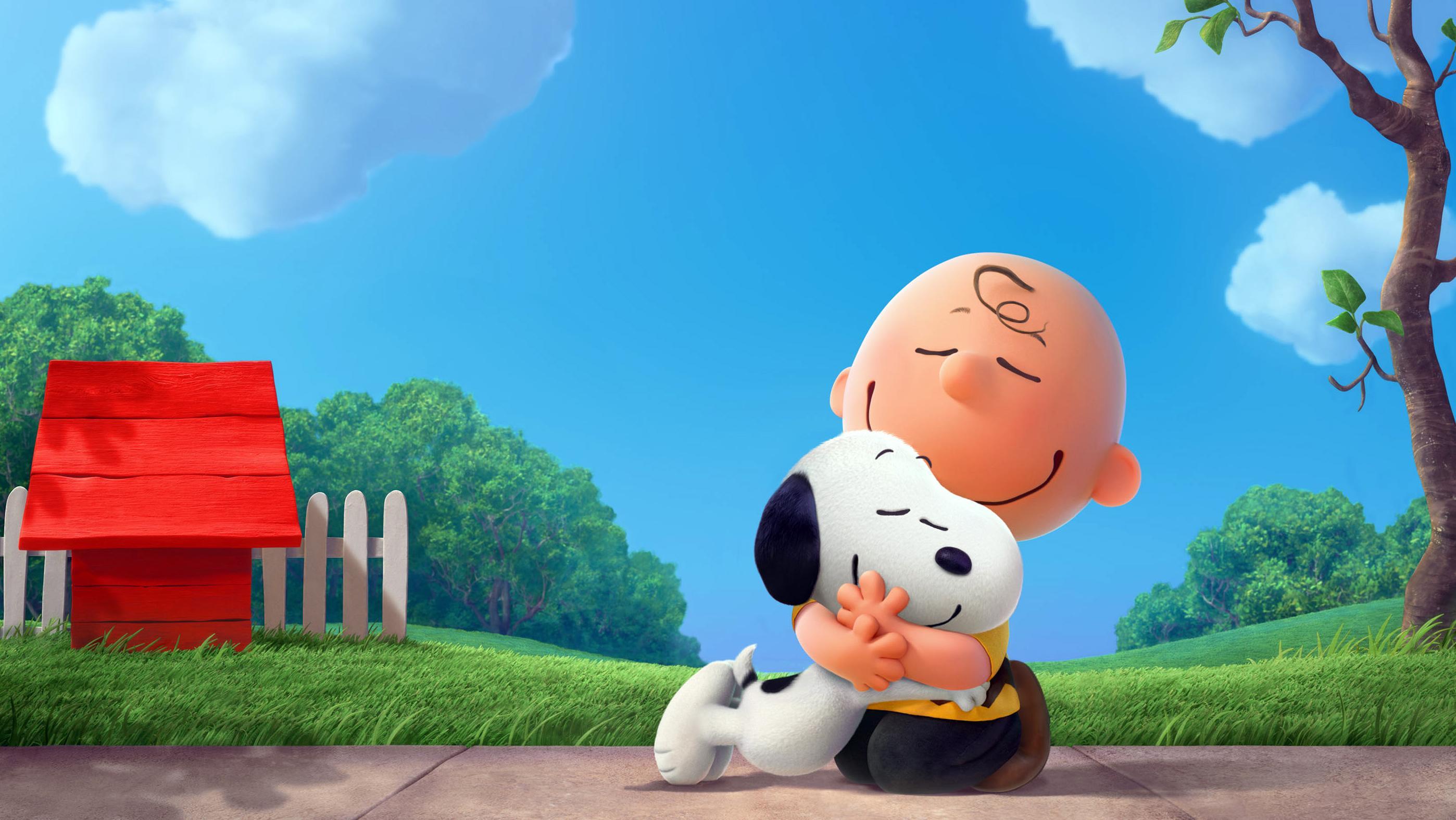 """Charlie Brown und sein Hund Snoopy aus """"Die Peanuts - Der Film"""" (2015)"""
