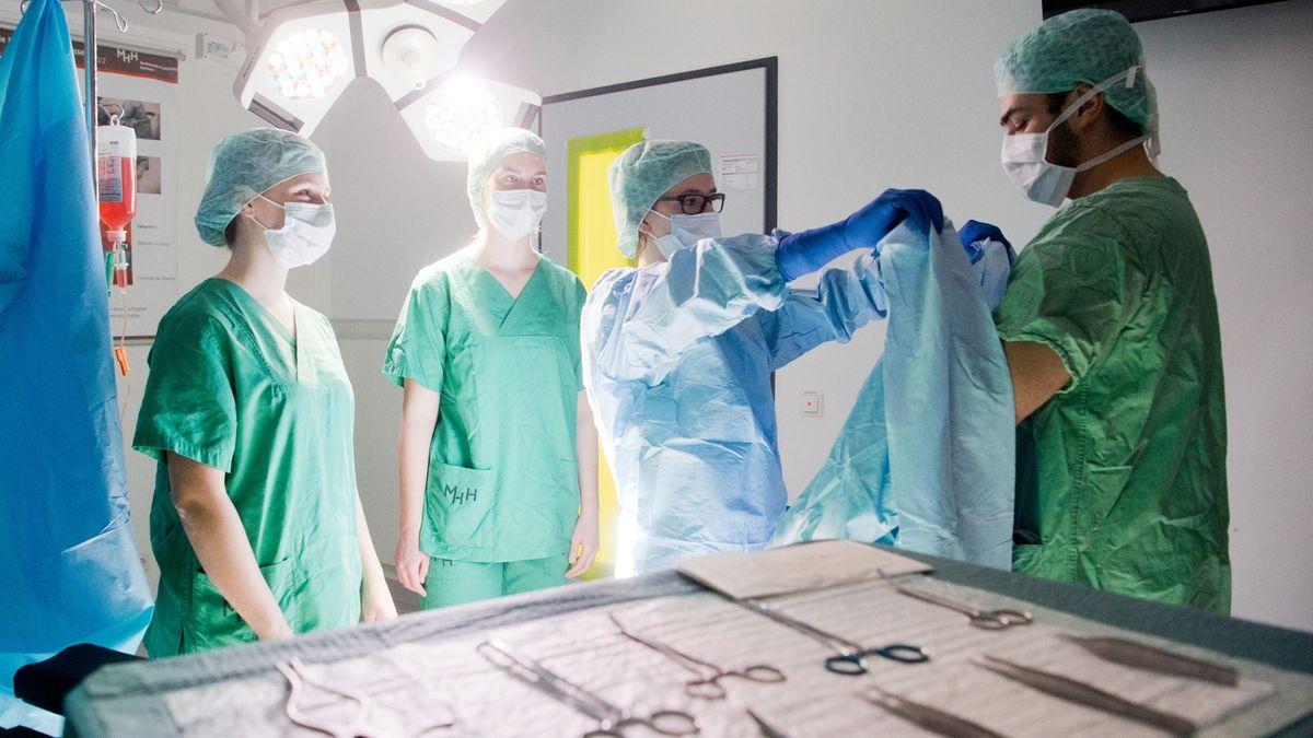 Symboldbild Medizinstudenten