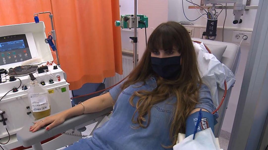 Katharina Striegel spendet Corona-Antikörper