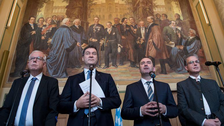 CSU-Fraktionschef Kreuzer legt Aiwanger Rückzug als Vize-Regierungschef nahe   Bild:picture alliance/dpa   Sven Hoppe