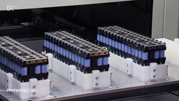 Fertigung in der unterfränkischen Batteriefabrik BMZ | Bild:BR