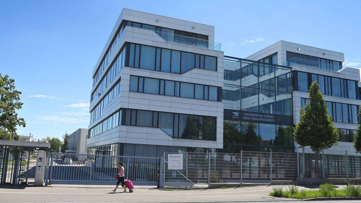 Hauptsitz der Airbus-Tochter Premium Aerotec