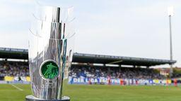 Der Meisterpokal der 3. Liga