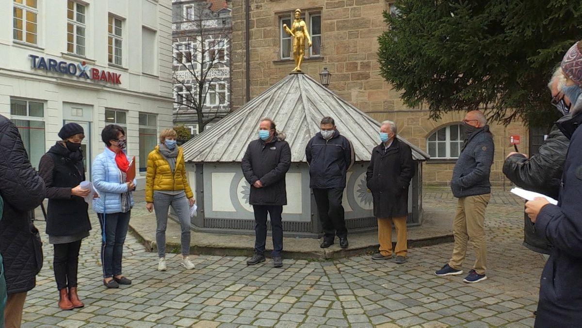 Altstadt-Weihnacht in Ansbach