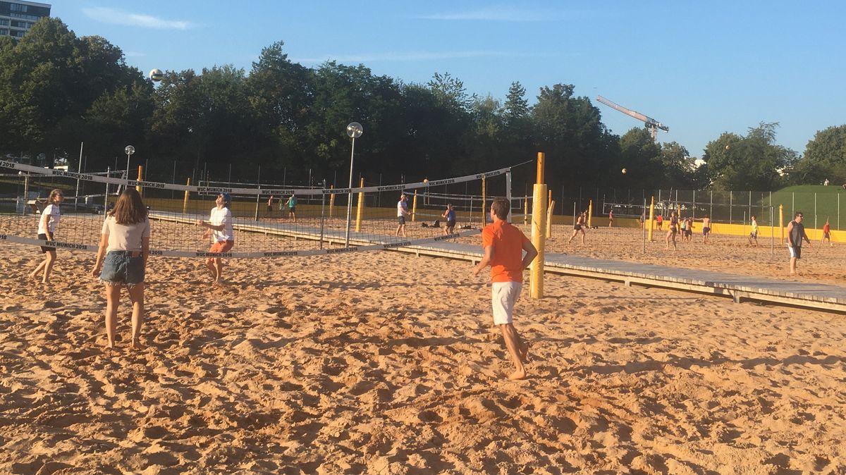 Beachen ist auch für Freizeitsportler ein toller Sport.