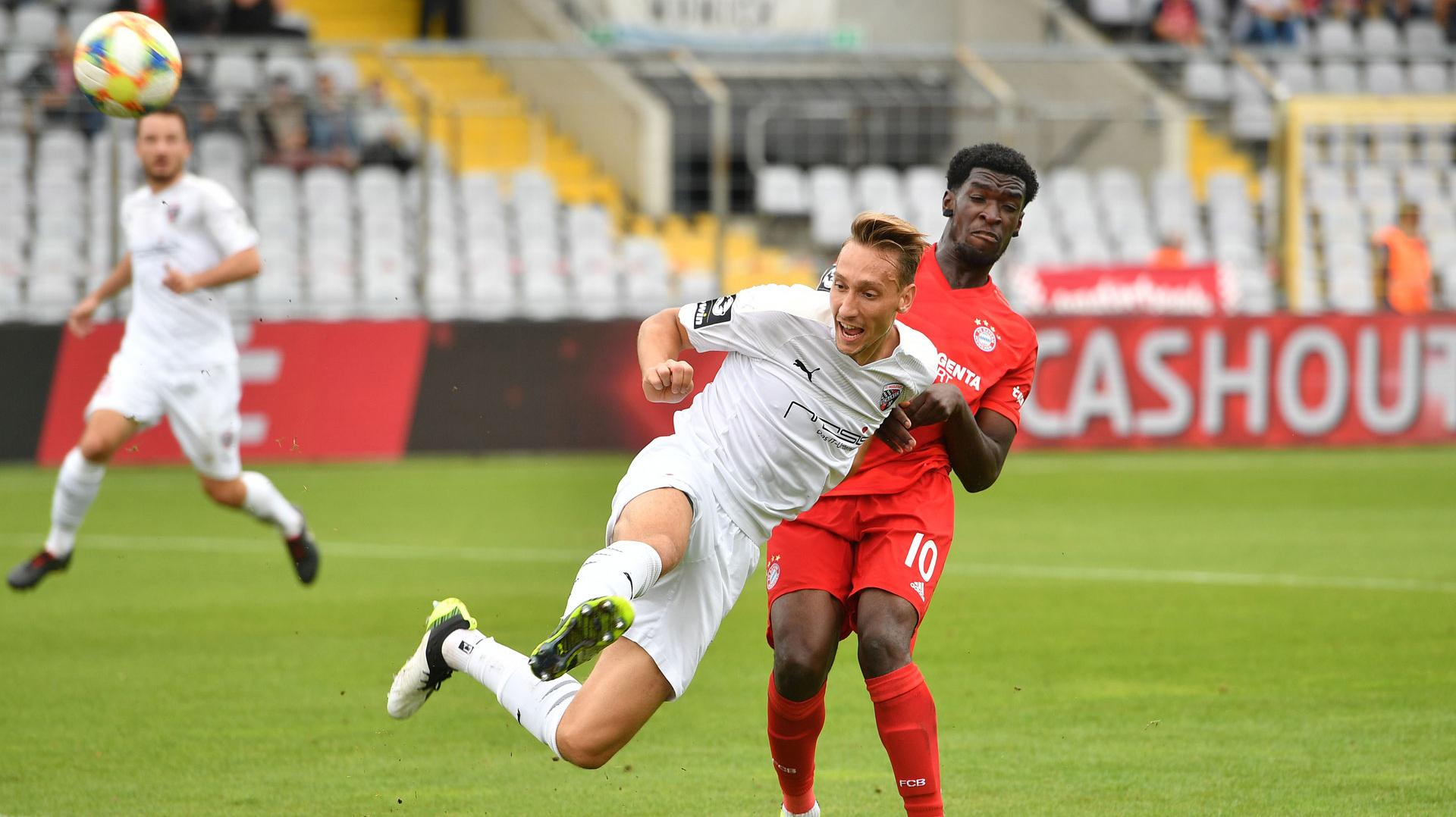 Fußball 3. Liga : FC Ingolstadt - FC Bayern München II