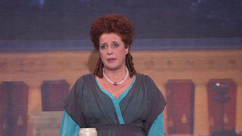 "Luise Kinseher als ""Mama Bavaria"""