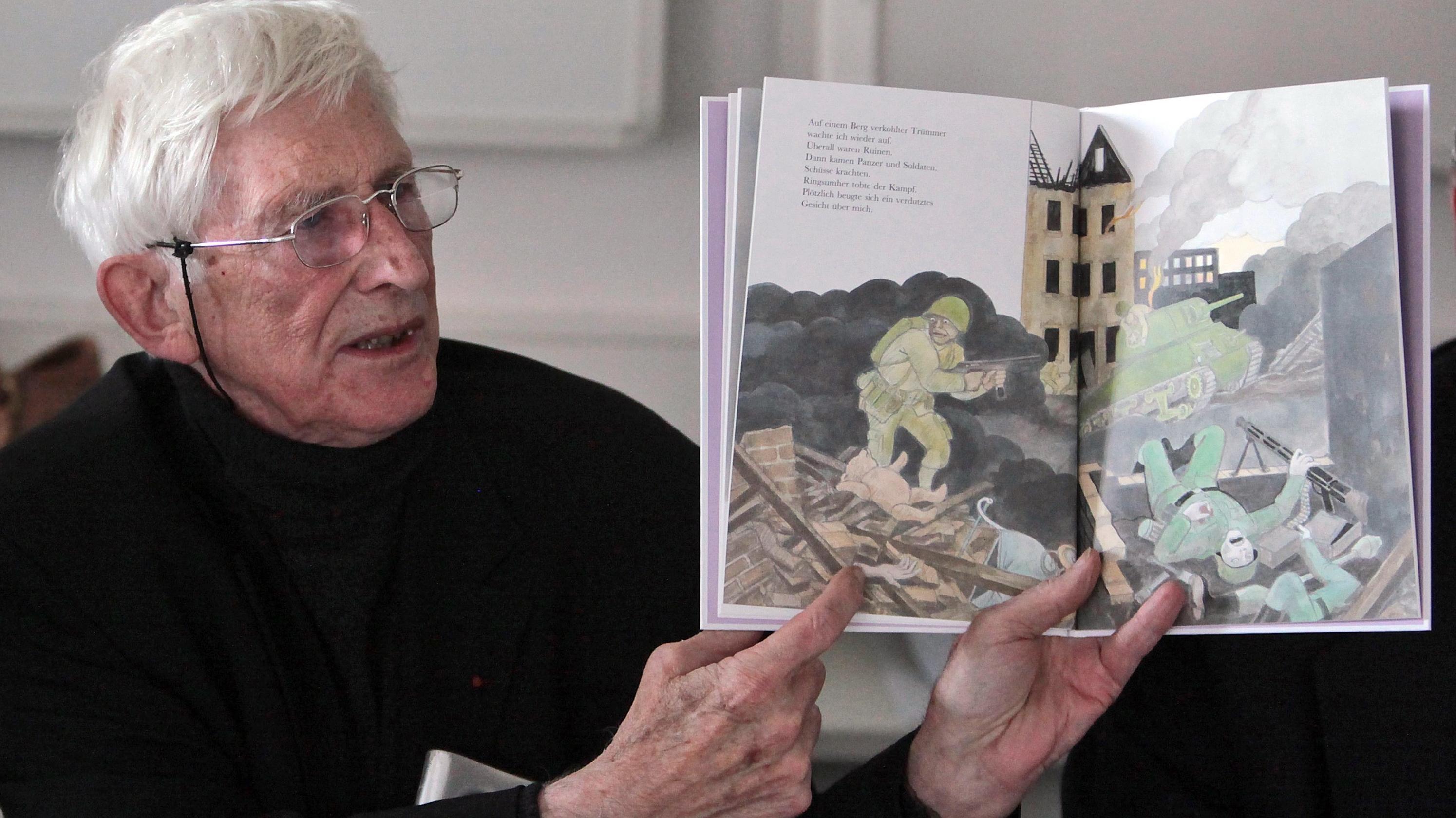 """Ungerer präsentierte 2010 in Osthofen sein Kinderbuch """"Otto"""""""