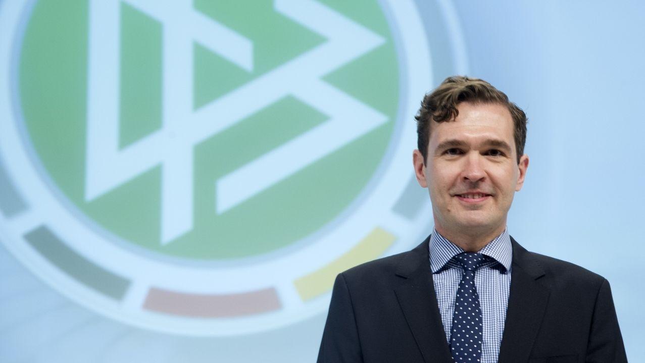 DFB-Generalsekretär Friedrich Curtius