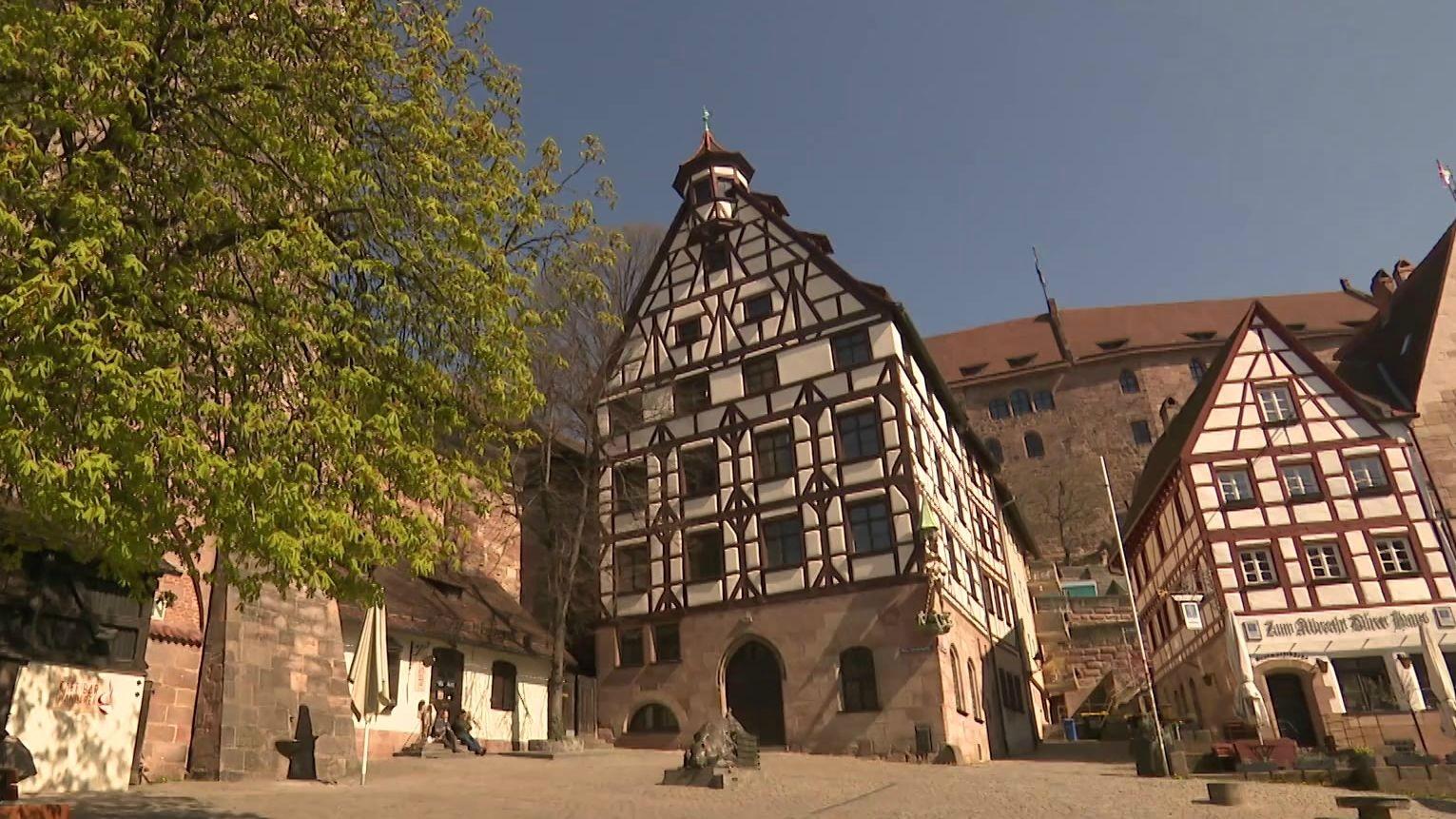 Pilatushaus am Nürnberger Tiergärtnertorplatz
