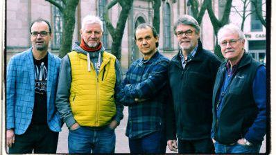 """""""Dr. Leyk's Blues"""": Nach einer schöpferischen Pause hat Wolfgang Leyk seine Bluesband Anfang 2012 neu zusammengestellt."""