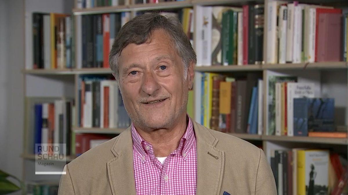 Der Vorsitzende der Antikorruptionsorganisation, Hartmut Bäumer.