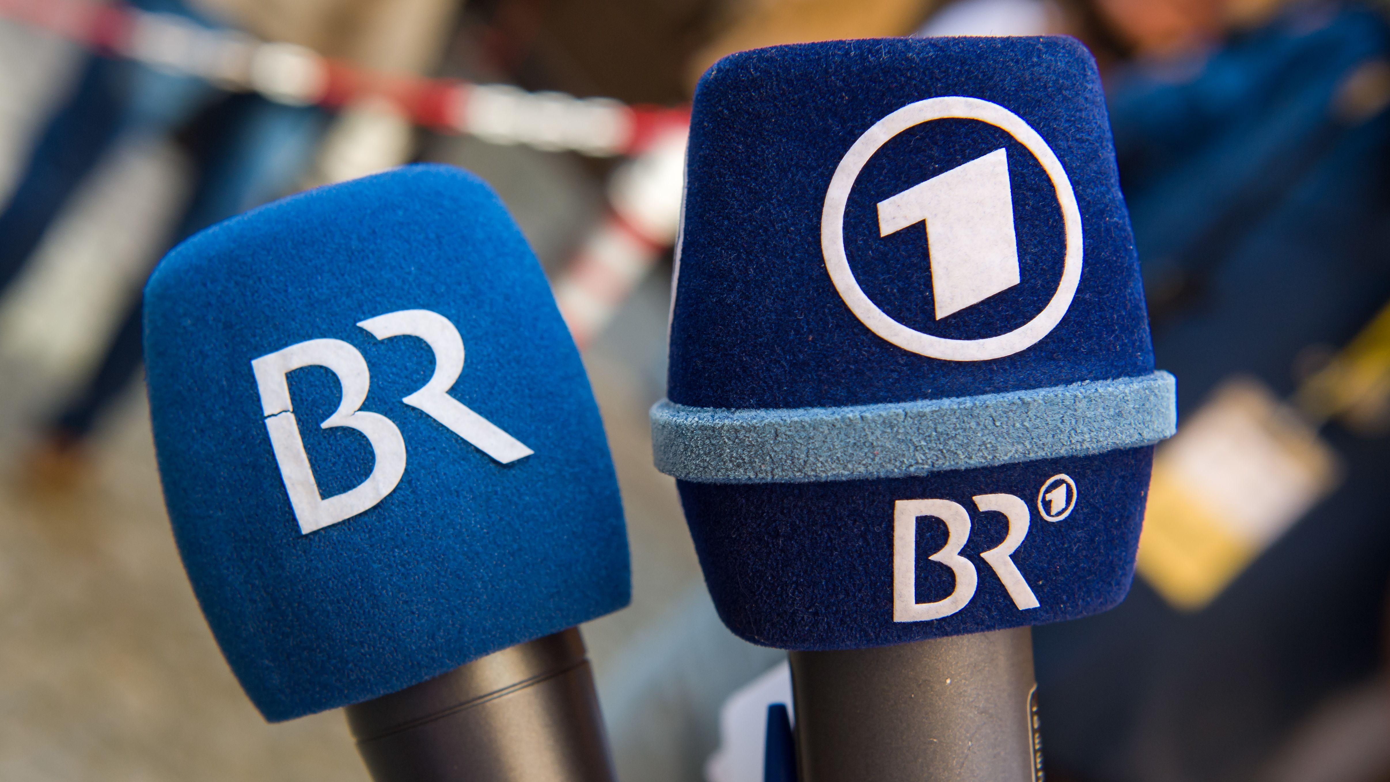 BR- und ARD-Mikrofon (Symbolbild)