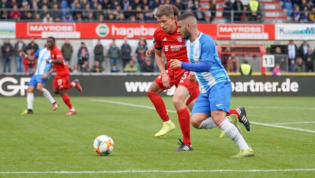 Spielszene SV Meppen - FC Bayern München II