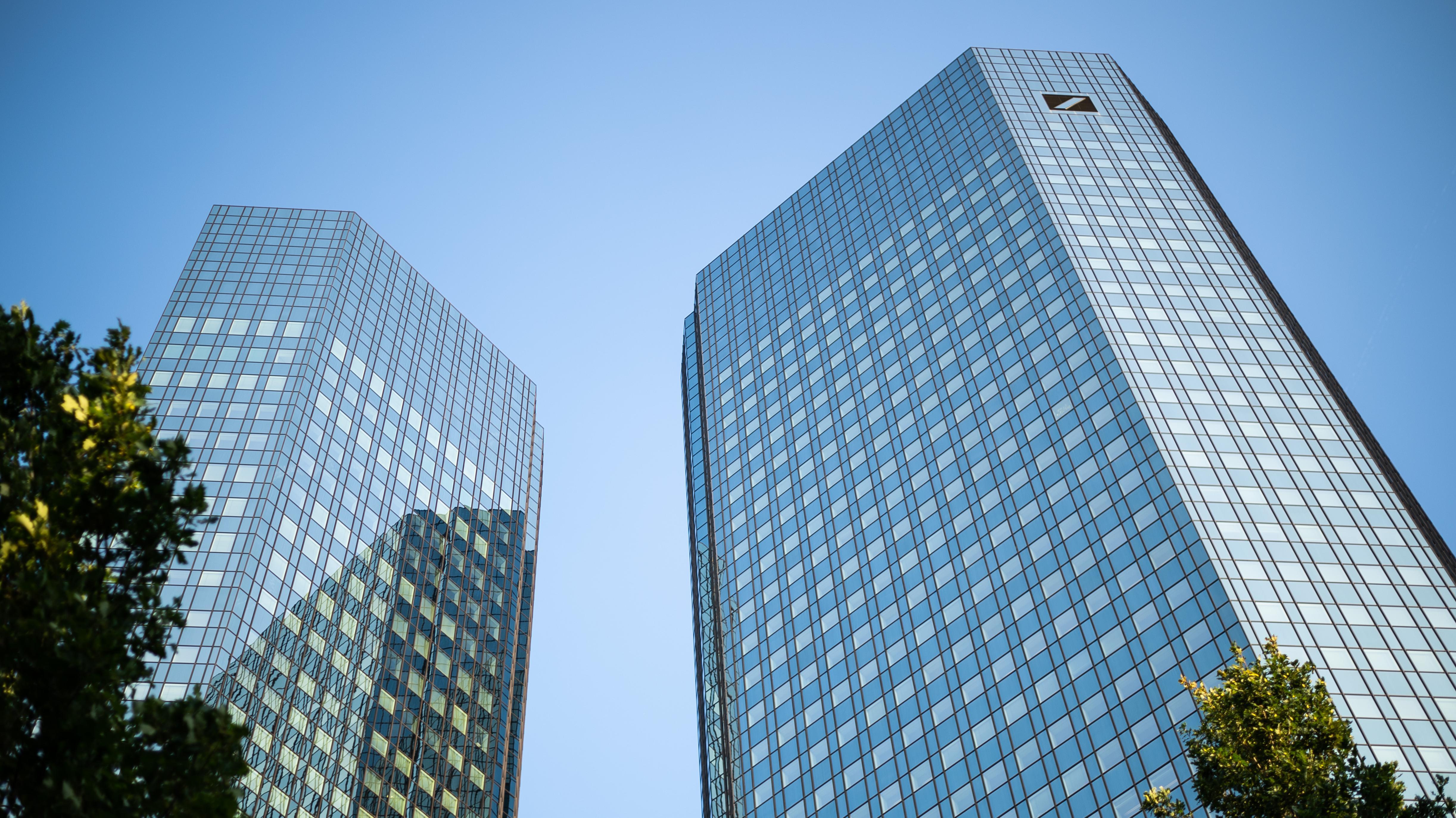 Deutsche Bank Zentrale in Frankfurt/Main