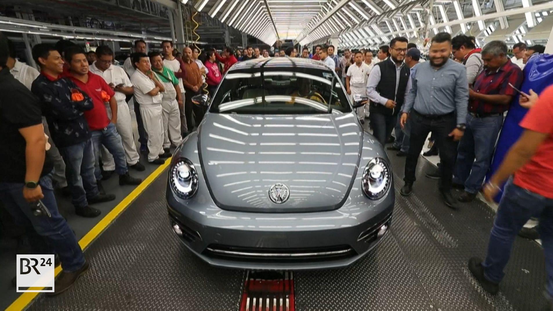 Der letzte VW-Beetle rollt in Puebla vom Band