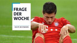 Die Frage der Woche: Der Lewandowski-Schock - ziehen Leipzig und Paris den Bayern jetzt die Lederhosen aus?   Bild:picture-alliance/dpa/BR