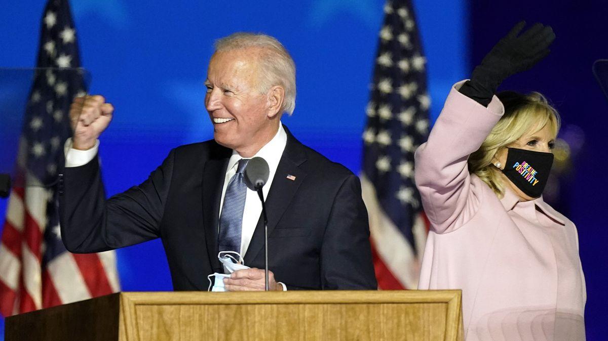 Joe Biden und seine Frau Jill.