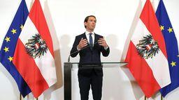 Nach dem Rücktritt von Österreichs Vizekanzler und FPÖ-Chef Strache löst Kanzler Kurz das Regierungsbündnis auf.   Bild:dpa-Bildfunk