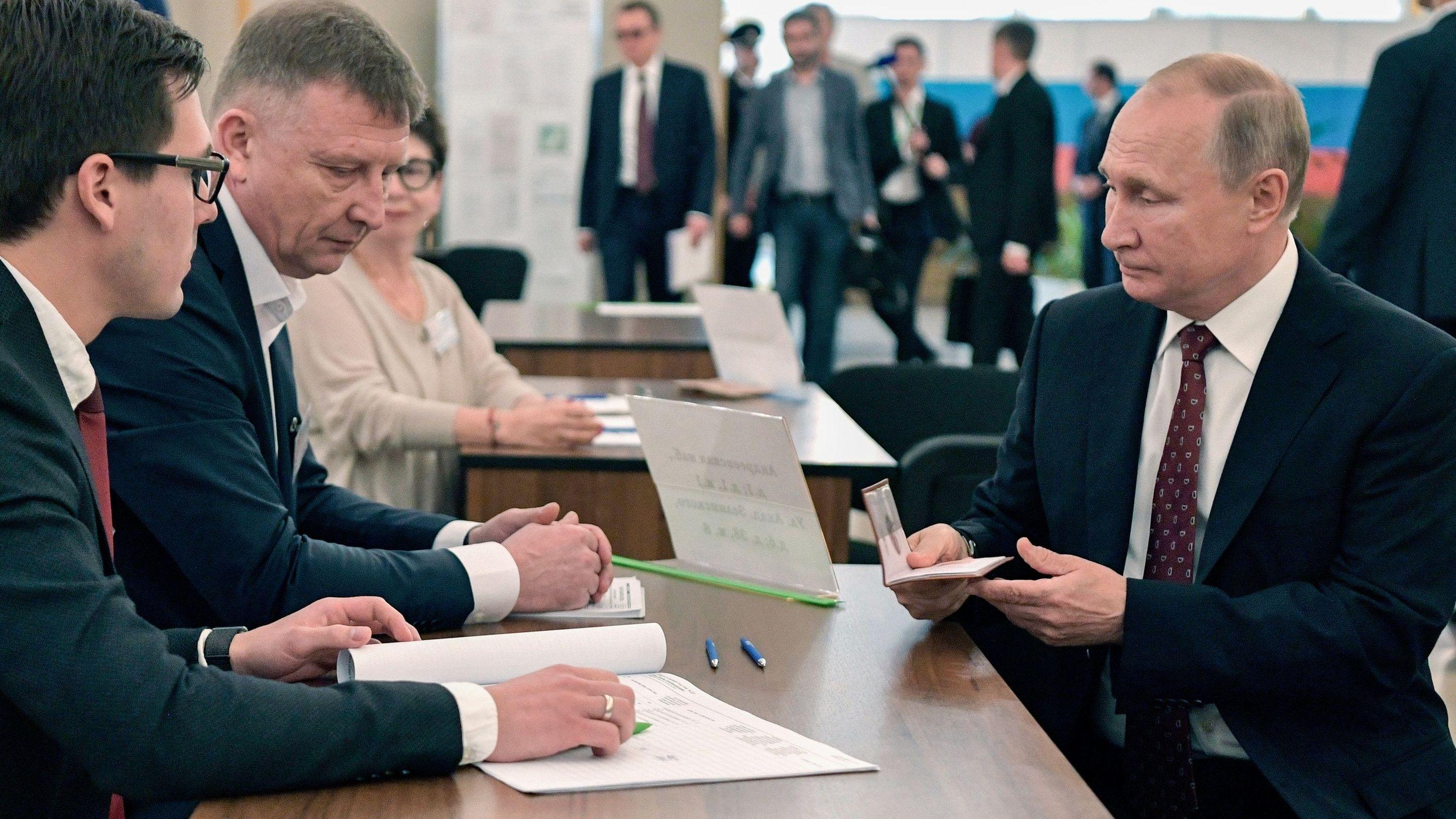 Die Wahl gilt als Stimmungstest für den russischen Präsidenten