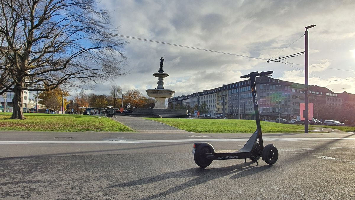 E-Scooter in Würzburg