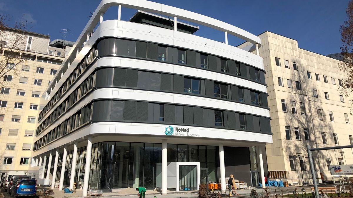 Das Klinikum in Rosenheim behandelt Covid19-Patienten