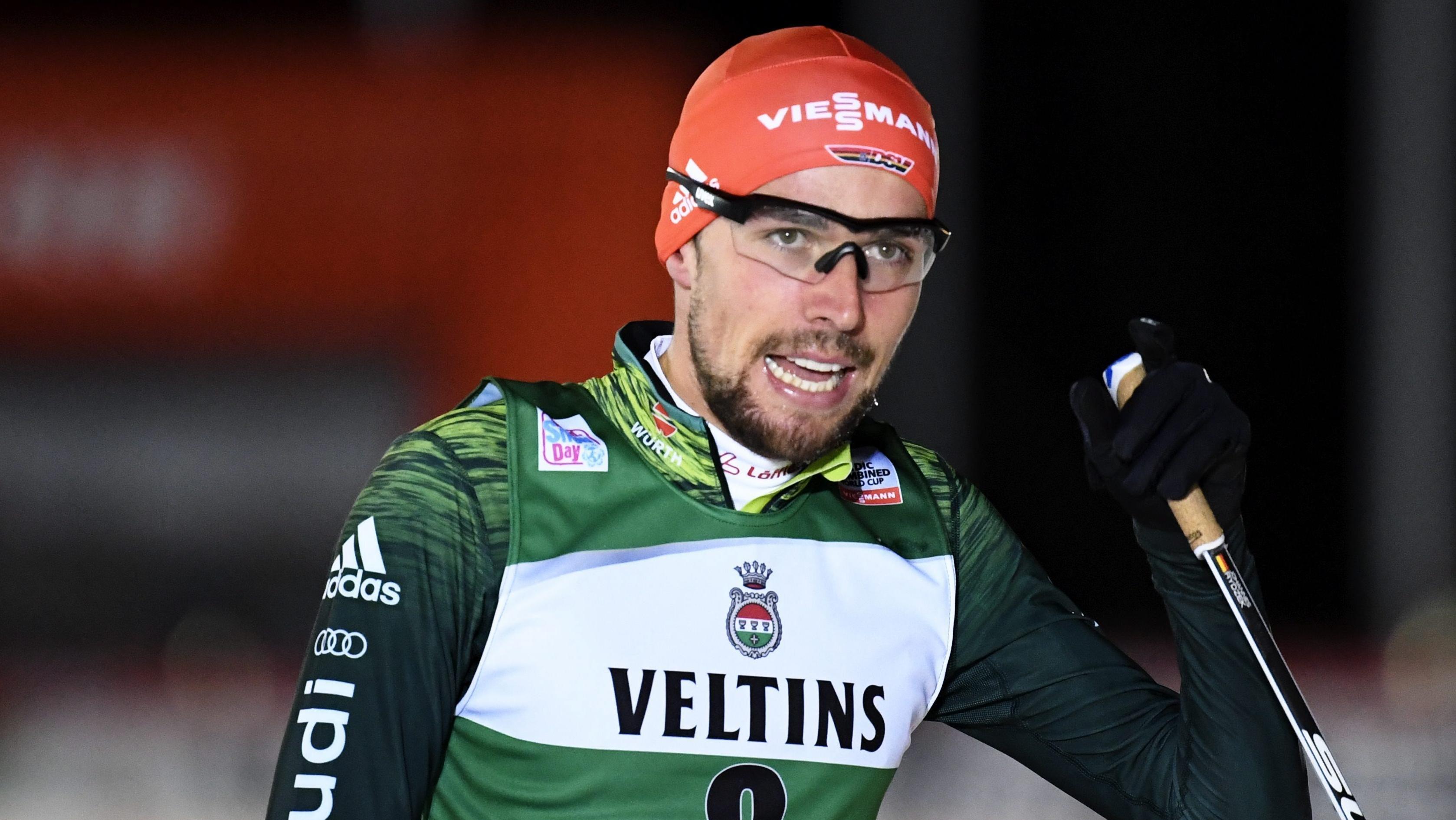 Der Nordische Kombinierer Johannes Rydzek aus Oberstdorf
