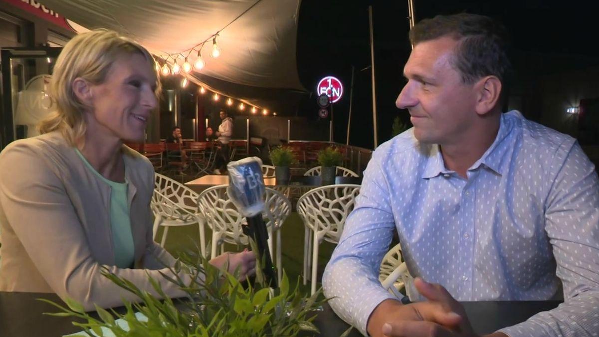 Julia Büchler im Gespräch mit Ex-Club-Keeper Raphael Schäfer