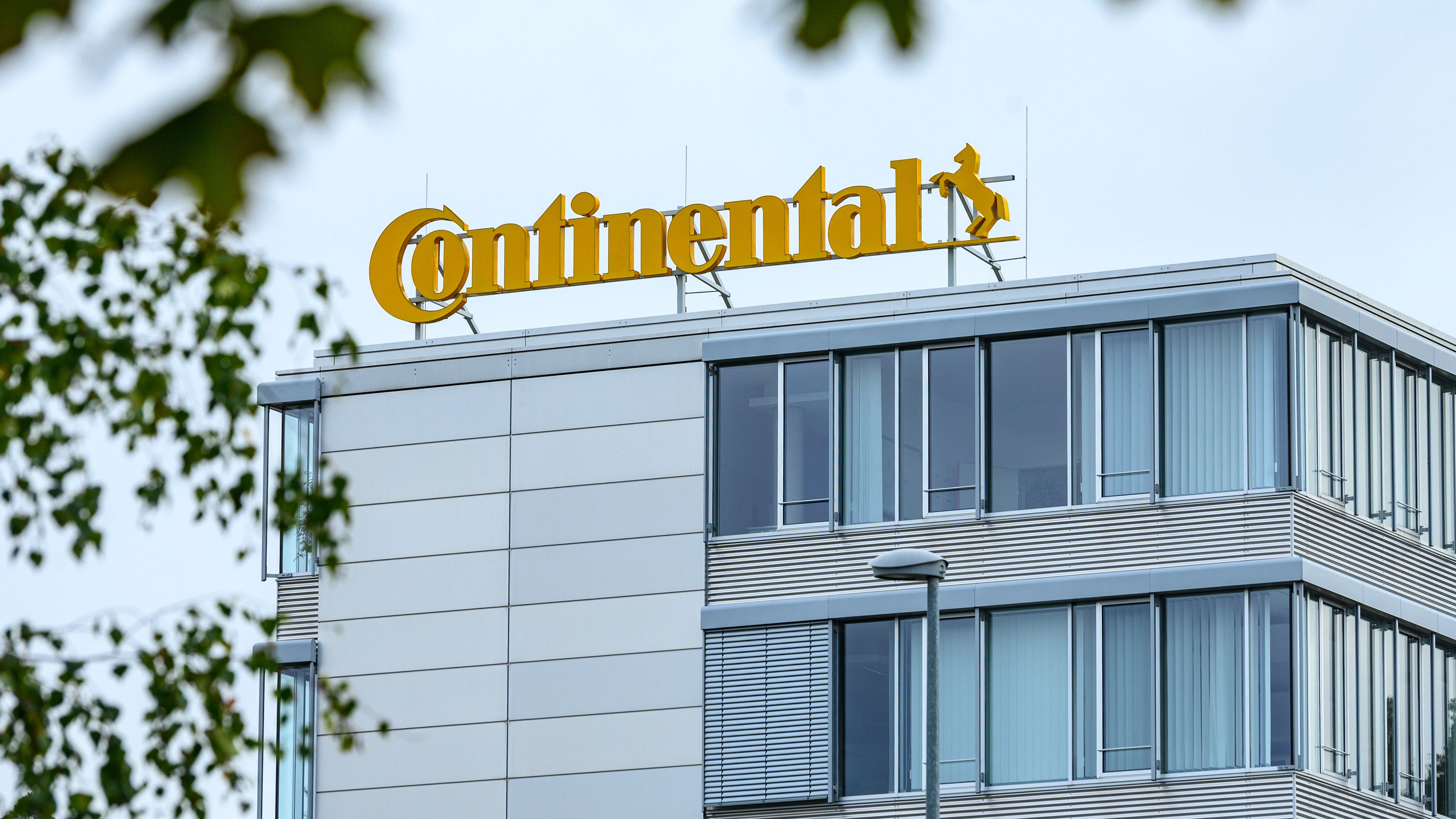 Das Continental-Werk in Roding.
