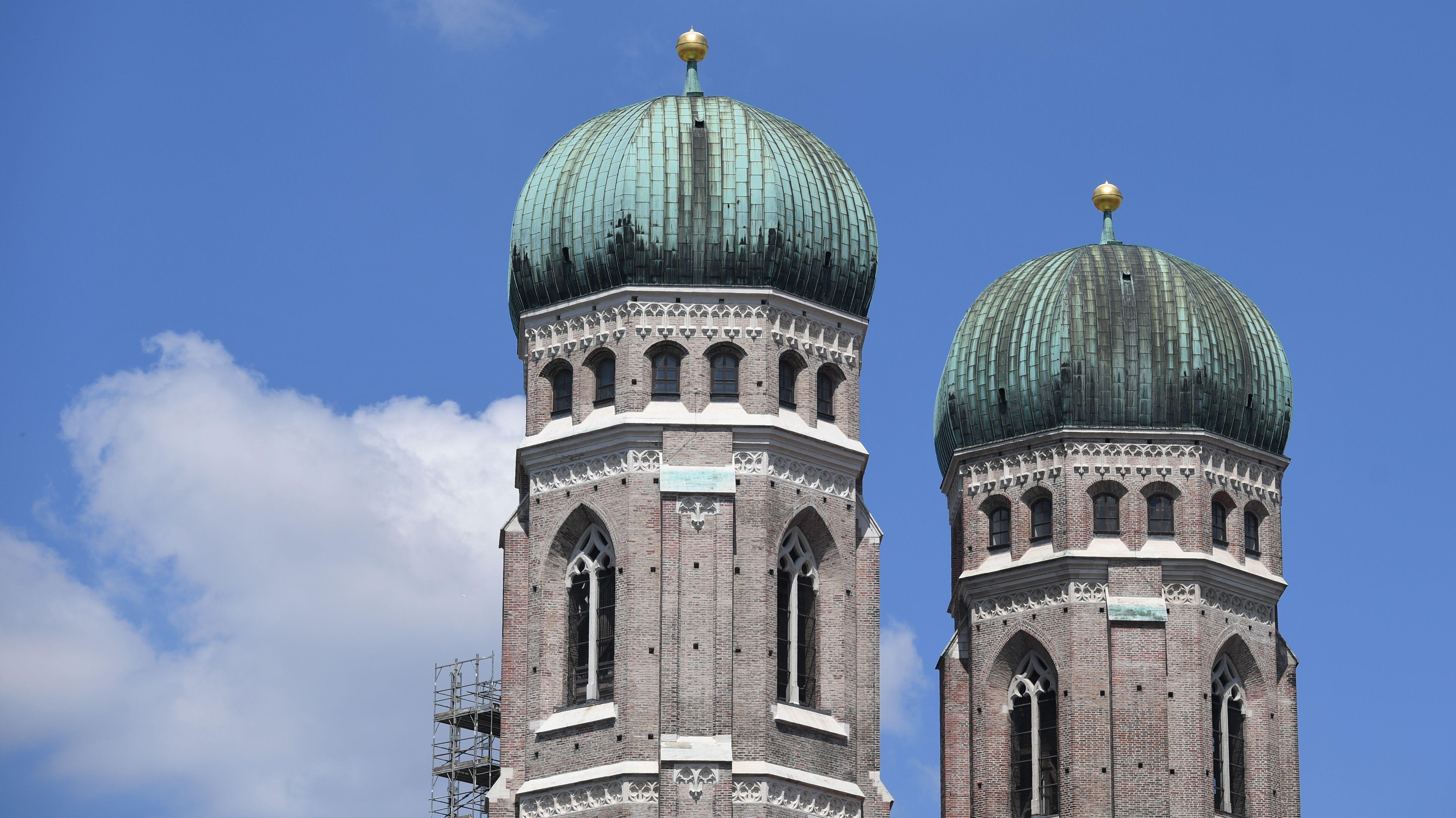 Türme der Münchner Frauenkirche