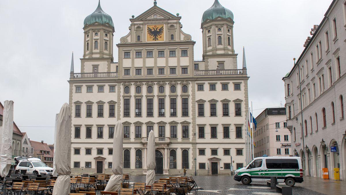 Rathausplatz Augsburg