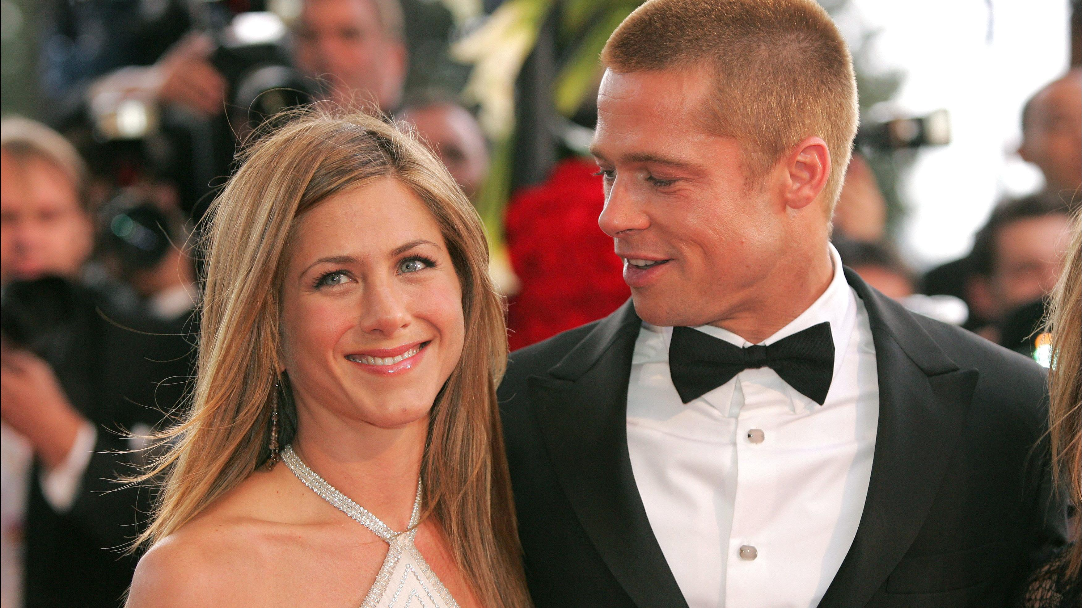 Jennifer Aniston und Brad Pitt 2004
