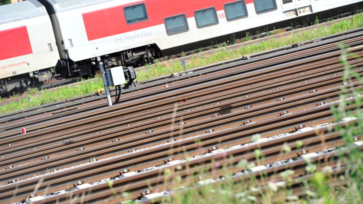 Gleise am Ostbahnhof München.