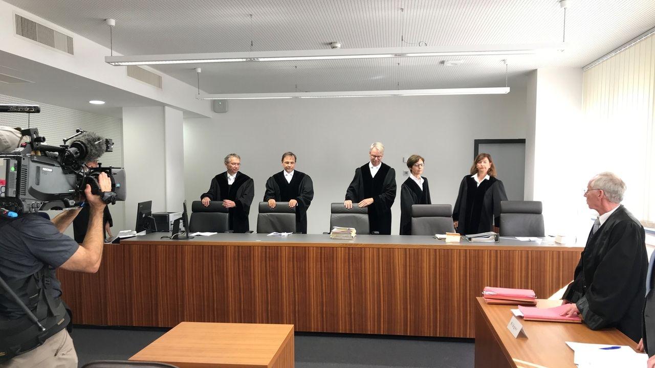 Richterinnen und Richter am Bayerischen Obersten Landesgericht in München