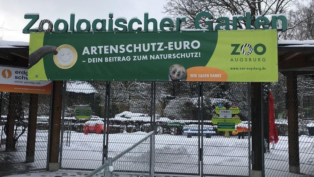 Lockdown im Augsburger Zoo
