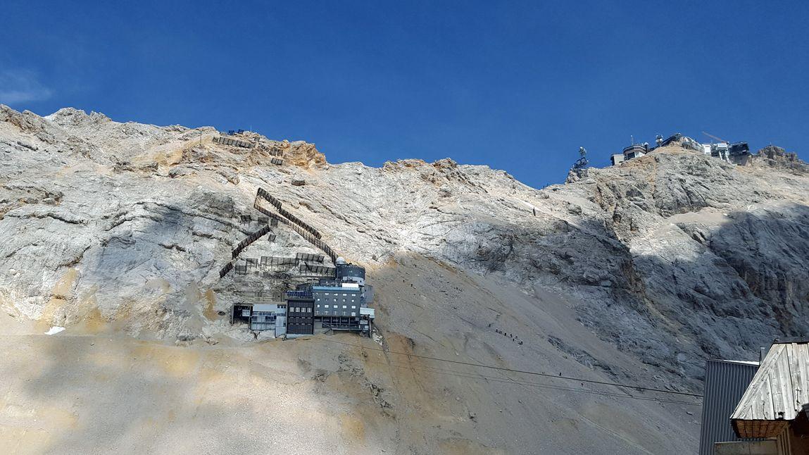 Umweltforschungsstation Schneefernerhaus auf der Zugspitze