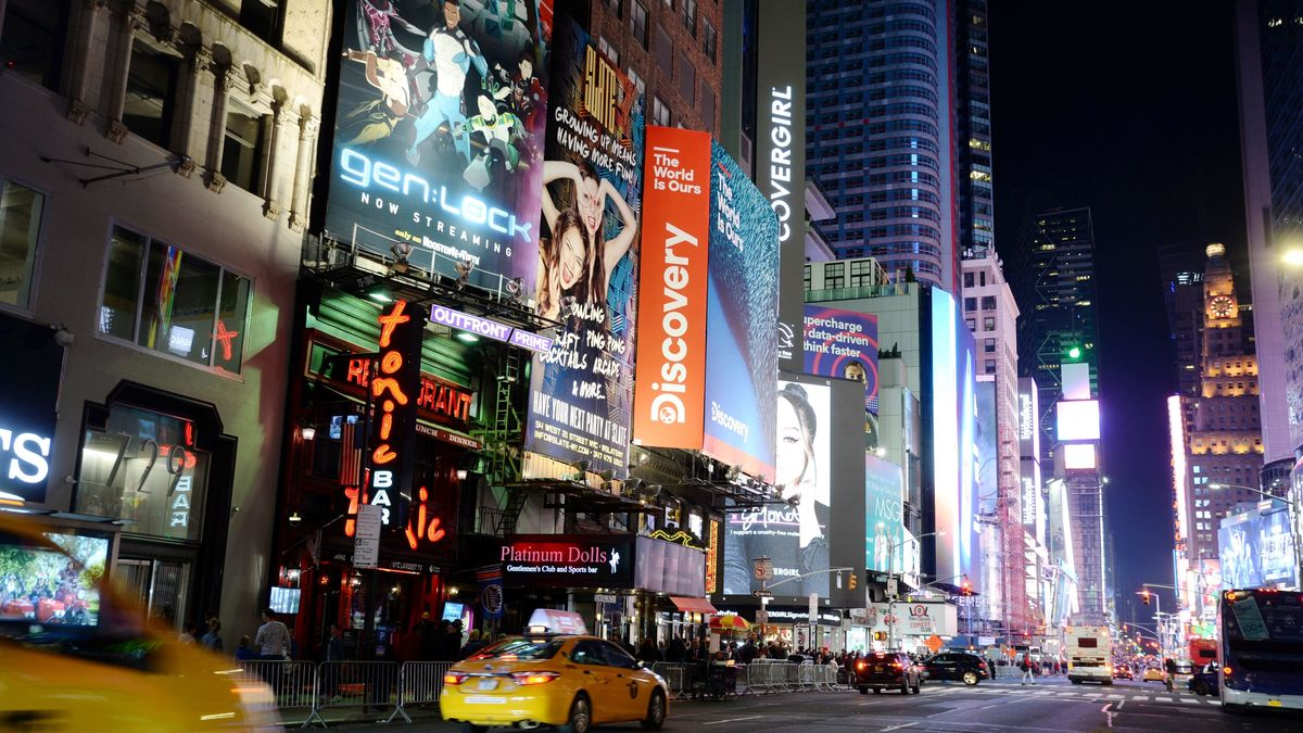 Der Time Square in New York
