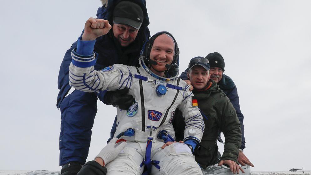 Alexander Gerst nach Rückkehr von der ISS