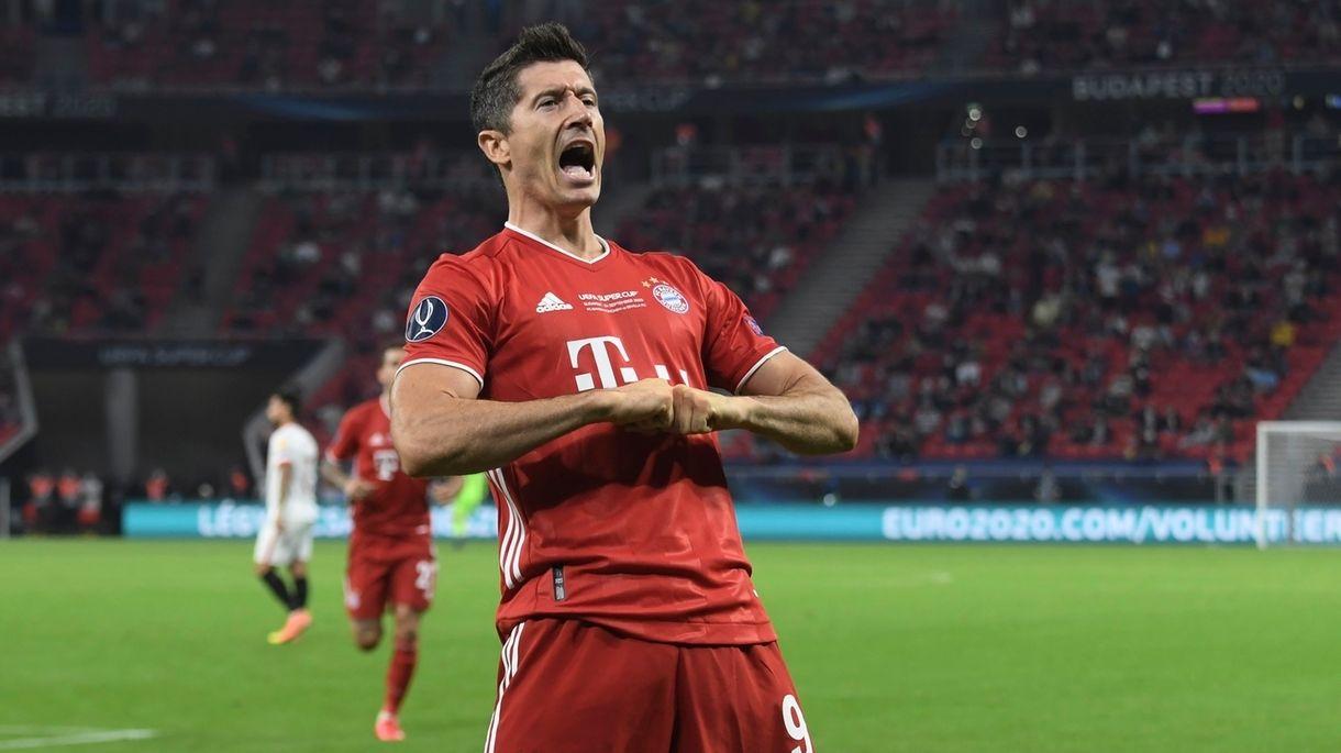Robert Lewandowski vom FC Bayern München