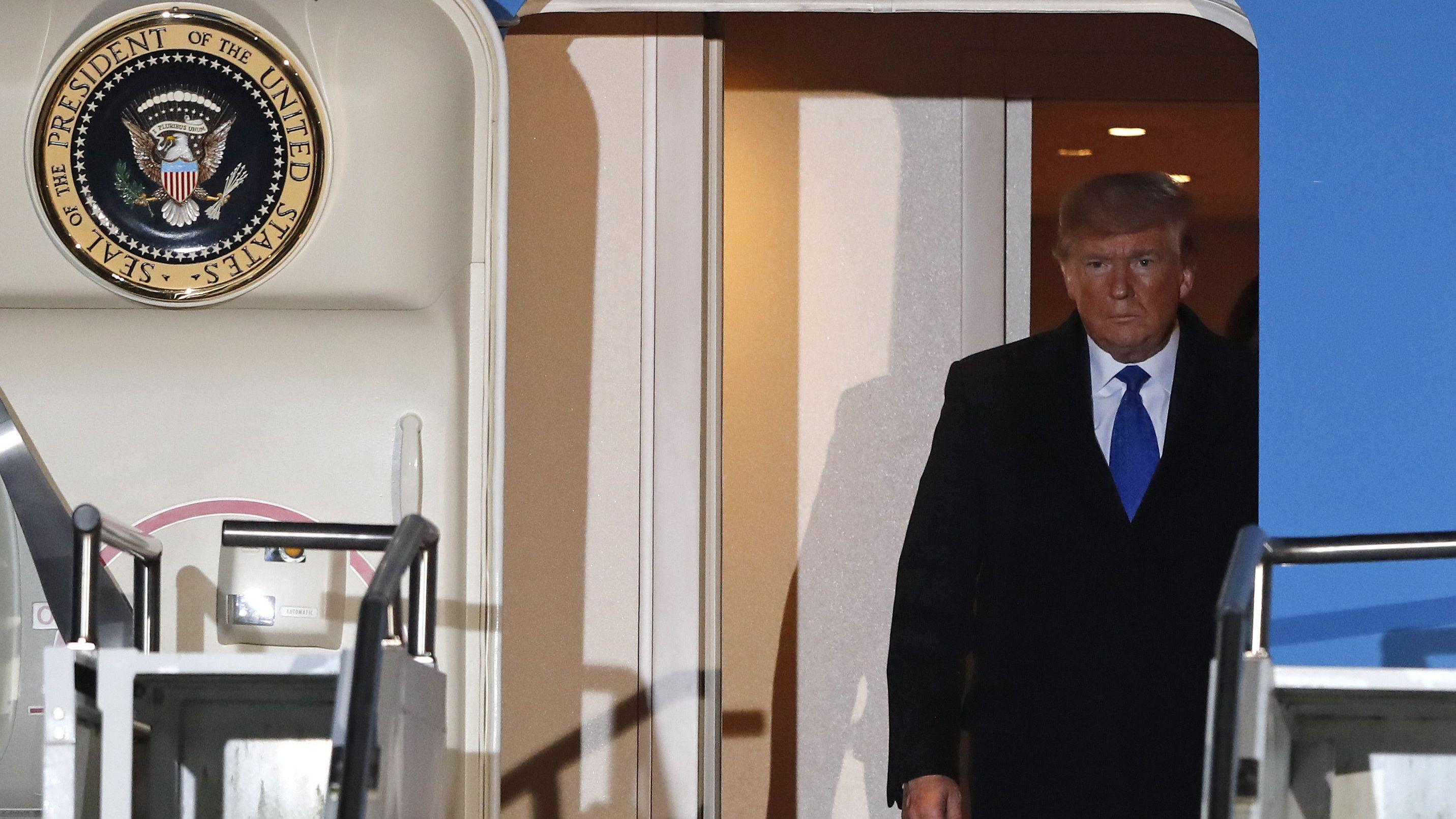 Donald Trump vor dem NATO-Gipfel