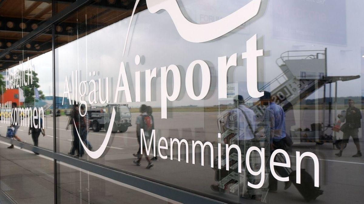 Der Allgäu Airport in Memmingen könnte des Passagier-Rekord brechen.