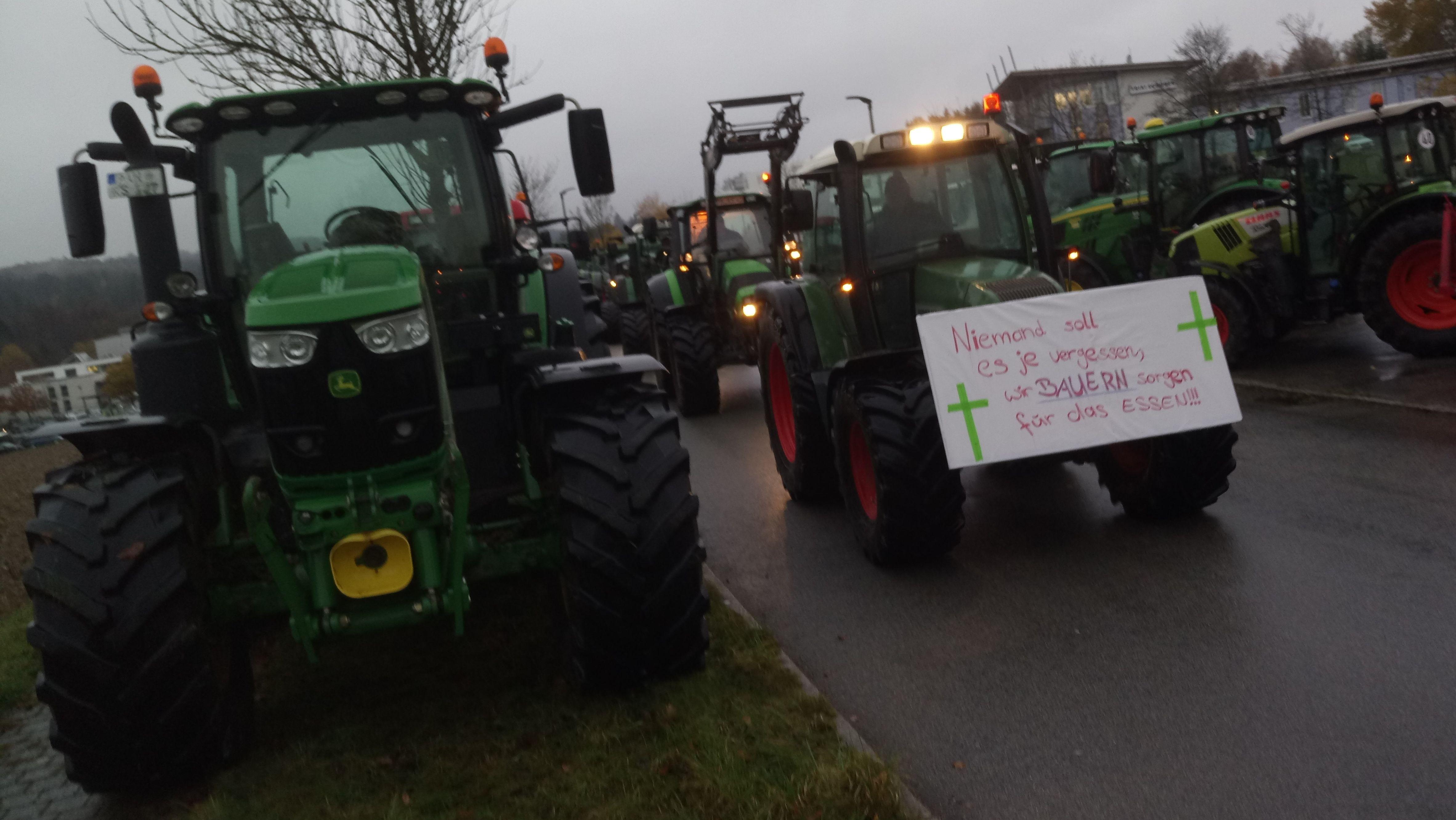 Bauern-Demo in Passau
