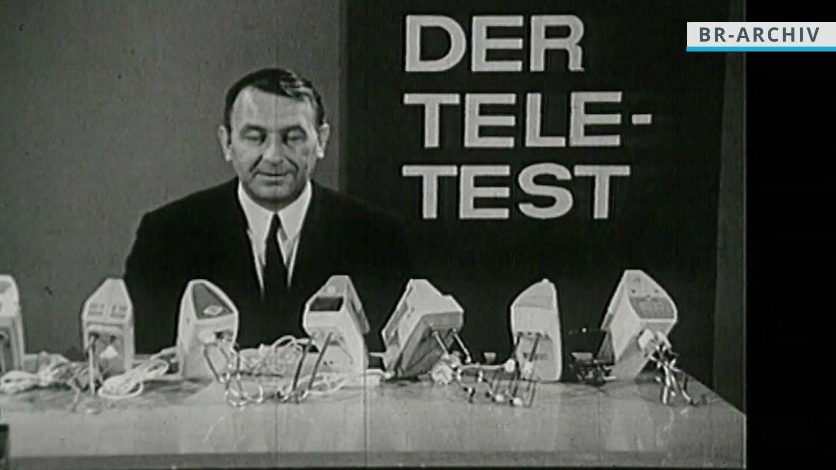 """Beim """"Teletest"""" wurden Handrührgeräte getestet."""