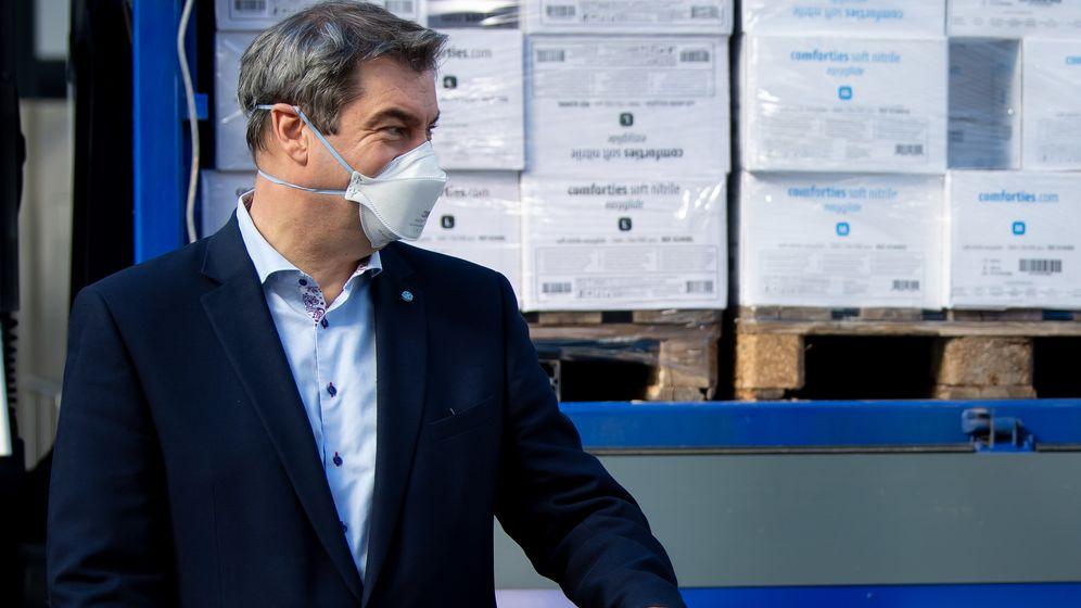 Ministerpräsident Markus Söder   Bild:picture alliance/Sven Hoppe/dpa