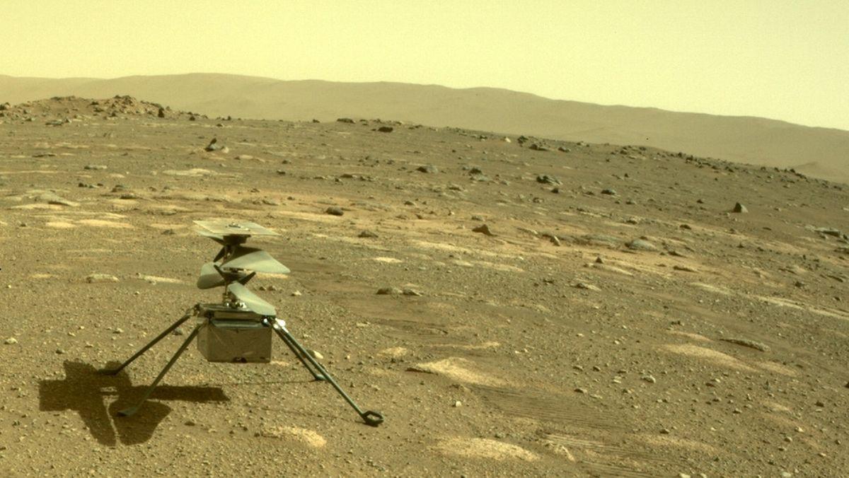 "Mars-Hubschrauber ""Ingenuity""."