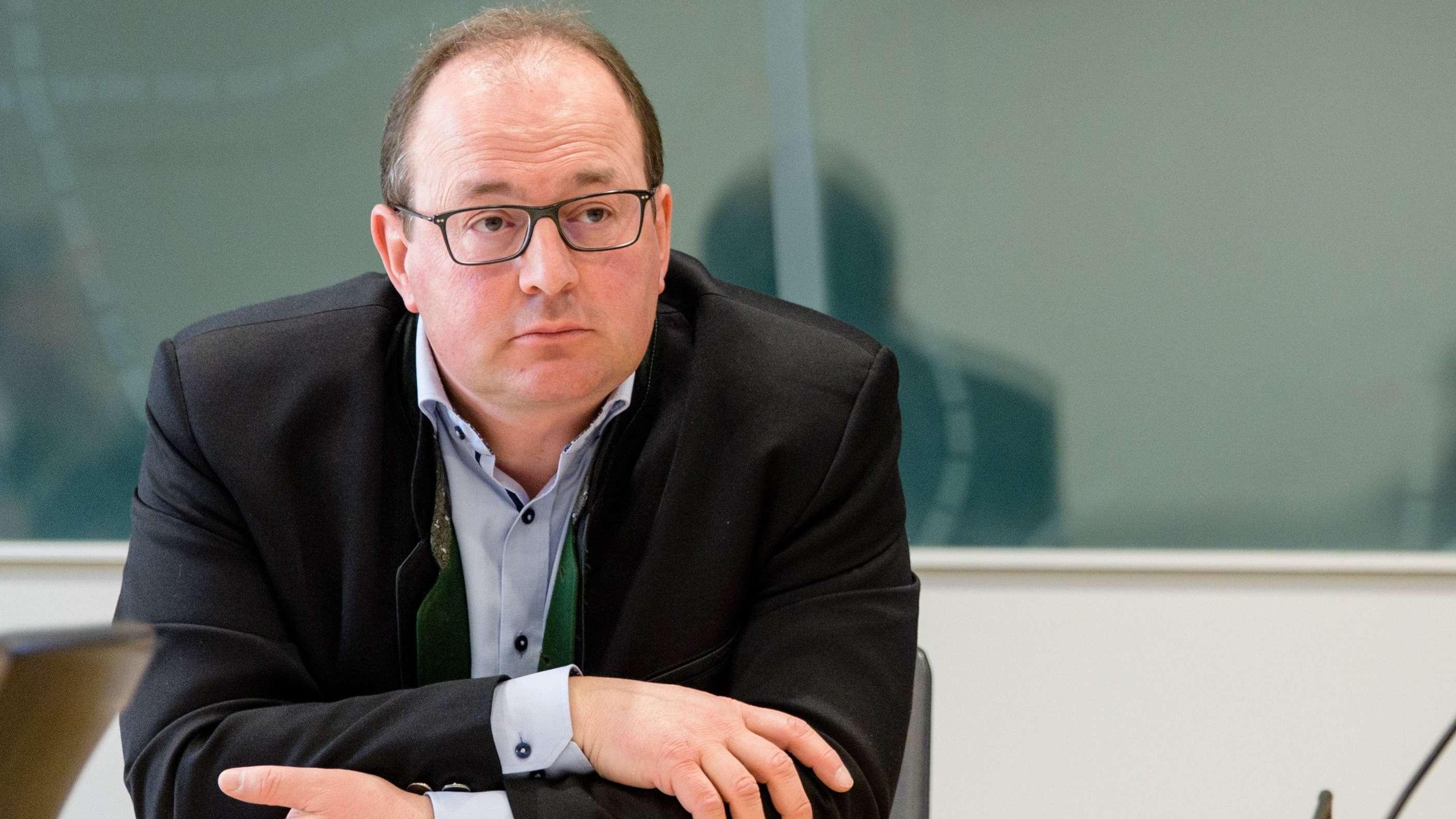 Markus Plenk, ehemaliger Vorsitzender der AfD-Fraktion im Bayerischen Landtag